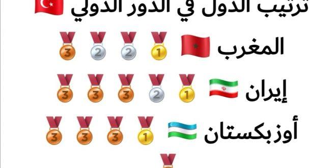 حصيلة متميزة للتايكواندو المغربي بدوري اسطانبول بتركيا ، والمغرب يتصدر ترتيب البطولة