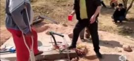 بني عياط ازيلال / يحفر بئرا بدون رخصة، ويتحدث عن الاحسان في زمن الانتخابات