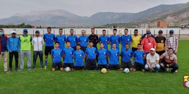 الوفاق الرياضي لأفورار يخرج منتصرا في مقابلته الأولى ضد نهضة أولاد ازمام