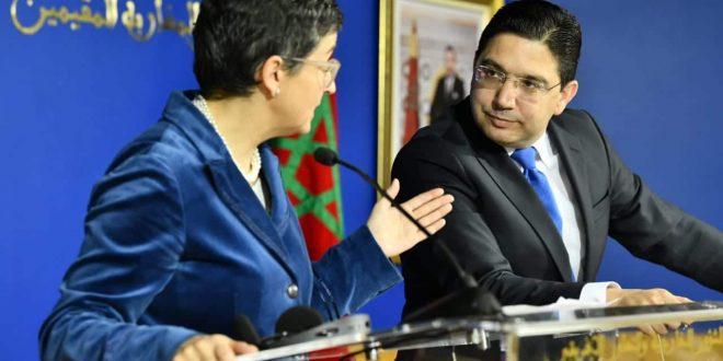"""بلاغ لخارجية المملكة يؤكد عدم الاقتناع بمبررات إسبانيا لاستقبال زعيم """"البوليساريو""""…"""