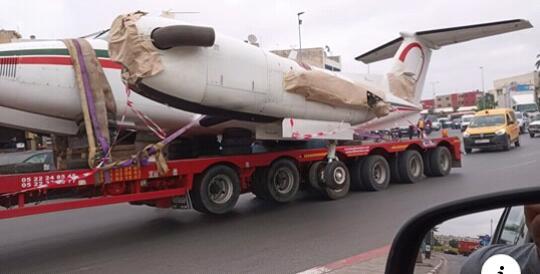 """لأول مرة في تاريخ المغرب """"ديبناج هاز طيارة"""" على الطريق السيار"""