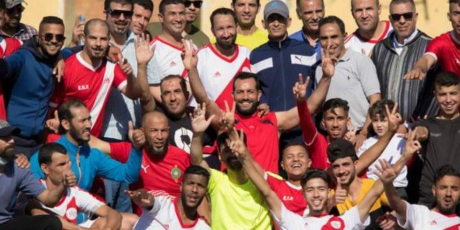 أحمد بوبياض المسؤول الإداري لفريق النجم الأحمر لكرة القدم