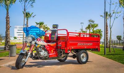 """وزارة التجهيز والنقل واللوجستيك، تقرر منع نقل الأشخاص على متن الدراجات النارية الثلاثية العجلات """"التريبورتور"""""""