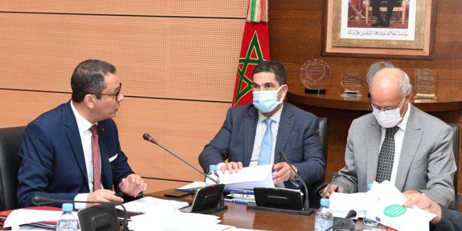 الاجتماع الأول للجنة المركزية لملاءمة حافظة مشاريع تنزيل أحكام القانون الإطار رقم 17.51.