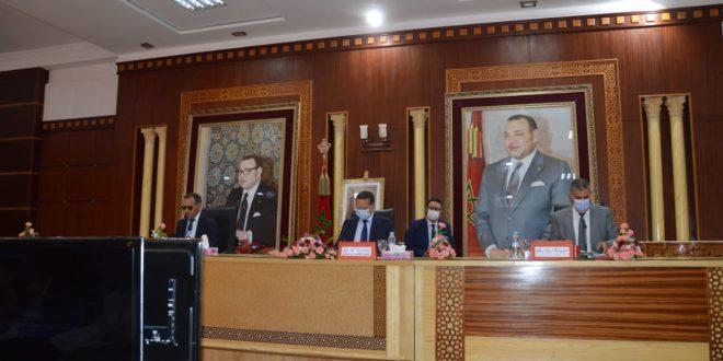 الدورة العادية لشهر يونيو للمجلس الإقليمي للفقيه بن صالح تختتم أشغالها في جو اخوي