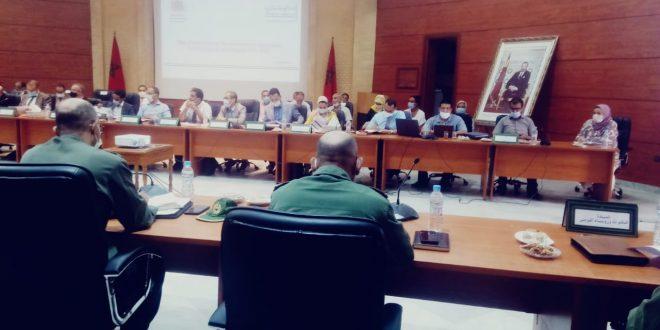عامل إقليم سيدي قاسم يرأس اجتماع اللجنة الإقليمية للمبادرة الوطنية للتنمية البشرية