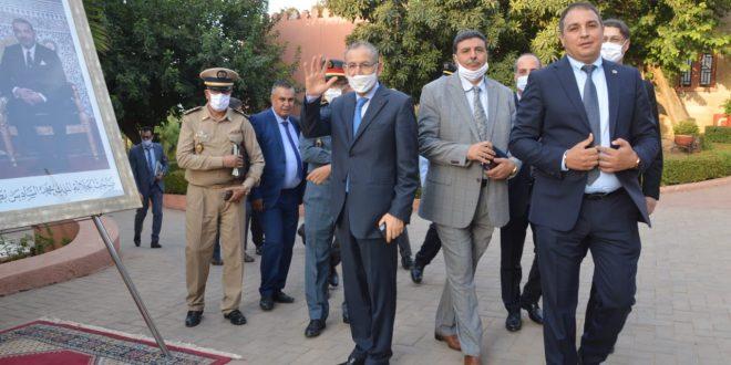 إقلیم بني ملال … توزیع مشاریع مدرة للدخل لفائدة نزلاء سابقین بالمؤسسات السجنیة